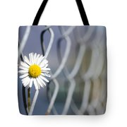 Daisy Flower Tote Bag