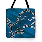 Detroit Lions Uniform Tote Bag