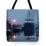 Early Morning In Portland, Maine Tote Bag