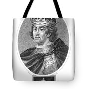 Edward I (1239-1307) Tote Bag