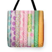Fabric Background Tote Bag