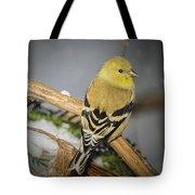 Golden Finch Tote Bag