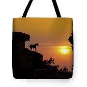 Hampi Sunset Tote Bag
