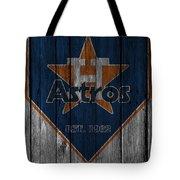 Houston Astros Tote Bag