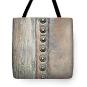Metal Background Tote Bag by Tom Gowanlock