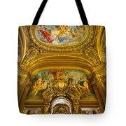Palais Garnier Interior Tote Bag