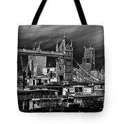 River Thames Art Tote Bag