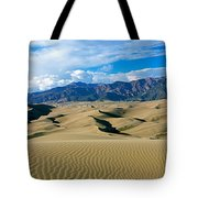 Sand Dunes In A Desert, Great Sand Tote Bag