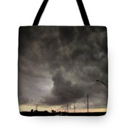 Severe Warned Nebraska Storm Cells Tote Bag
