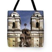 The Monastery Of San Francisco -  Lima Peru Tote Bag