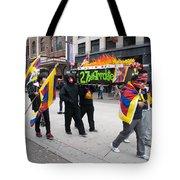 Tibetan Protest March Tote Bag