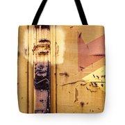 Train Art Abstract Tote Bag