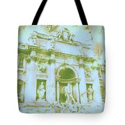 Trevi Fountain Landscape Tote Bag