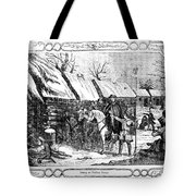 Valley Forge, Winter 1777 Tote Bag