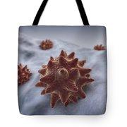 Virus Particles Tote Bag