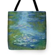 Waterlilies Tote Bag