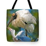 Wood Storks Tote Bag