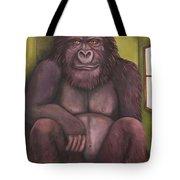 800 Pound Gorilla In The Room Edit 4 Tote Bag