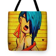 80's Pop Tote Bag by Nelson Perez