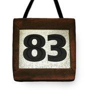 #83 Tote Bag