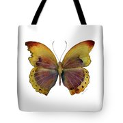 84 Gold-banded Glider Butterfly Tote Bag by Amy Kirkpatrick