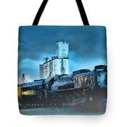 844 Night Train Tote Bag