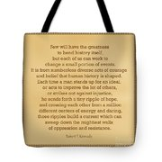 87- Robert F. Kennedy  Tote Bag