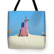9-11 Beach Memorial Tote Bag
