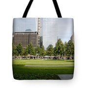 9/11 Grass Tote Bag