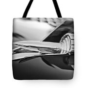1957 Chevrolet Belair Hood Ornament Tote Bag