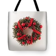 Advent Christmas Wreath  Tote Bag
