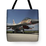 An F-16c Barak Of The Israeli Air Force Tote Bag