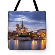 Cathedral Notre Dame Tote Bag by Brian Jannsen