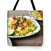 Chicken Noodles Tote Bag