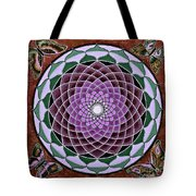 Cosmic Flower Mandala 6 Tote Bag