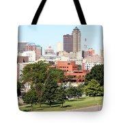 Des Moines Iowa Tote Bag