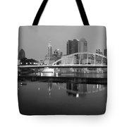 Downtown Skyline Of Columbus Ohio Tote Bag