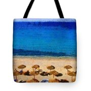Elia Beach Tote Bag