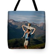 Family Hiking Tote Bag