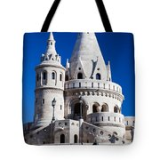 Fisherman's Bastion In Budapest Tote Bag