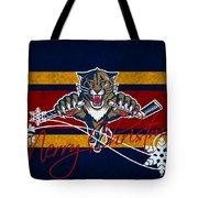 Florida Panthers Tote Bag