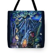Flutter Flies Tote Bag