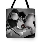 Football Collision Tote Bag