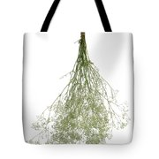 Hanging Dried Flowers Bunch Tote Bag