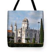 Hieronymites Monastery In Lisbon Tote Bag