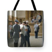 9. Jesus Before The Magistrate / From The Passion Of Christ - A Gay Vision Tote Bag