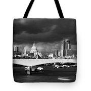 London  Skyline Waterloo  Bridge  Tote Bag