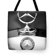 Mercedes-benz Hood Ornament Tote Bag