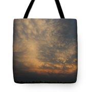 Nebraska Mammatus Sunset Tote Bag