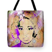 Nicki Minaj Diamond Earring Collection Tote Bag